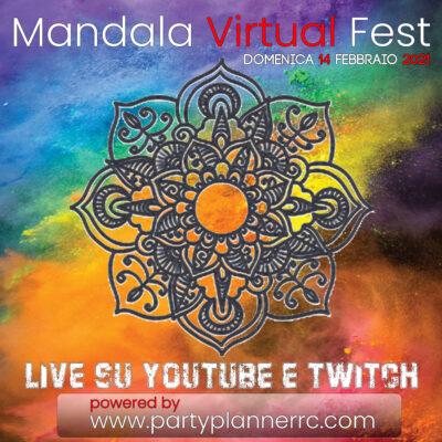 MANDALA Virtual Fest || da San Valentino a Carnevale 2021 tutto in un solo Evento!