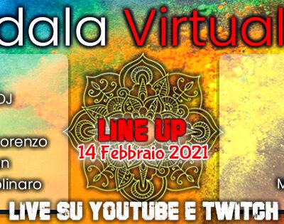 Mandala Virtual Fest || Domani ore 14.00 inizia il Grande Festival